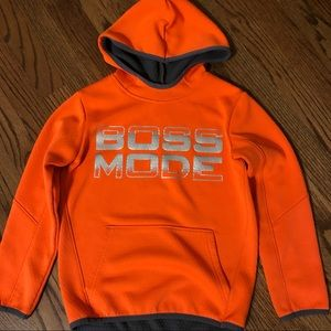 Place sport boys hoodie, lined size S 5-6yrs
